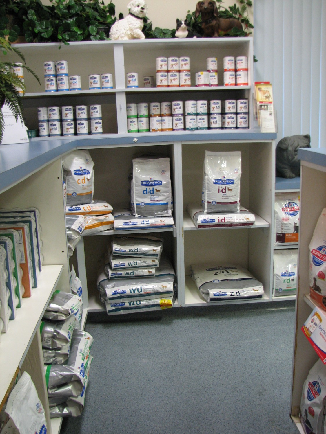 Pet Foods and products for sale at Ahwatukee Animal Care Hospital